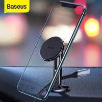 Baseus magnético suporte do telefone do carro para o iphone samsung forte ímã suporte de montagem para o telefone no carro móvel titular