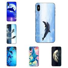 Soft Phone Dolphin Pretty For Galaxy A10S A20S A2 Core A30S A40S A50S A70S A90 5G M10 M30S M40 Note 10 Plus(China)