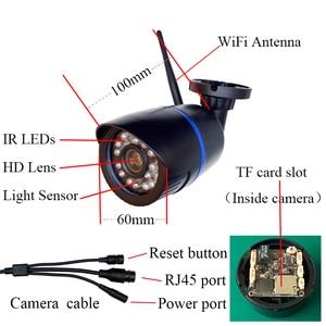 Image 5 - WiFi 2MP 1080P Audio HD IP Kamera Wireless 720P Indoor Outdoor Wasserdichte Kugel Cctv kamera Onvif Überwachung Sicherheit kamera