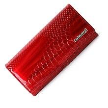 Del cuoio genuino delle donne portafogli lungo portafoglio in pelle di mucca di marca di lusso femminile delle donne della borsa del modello del coccodrillo frizione borse
