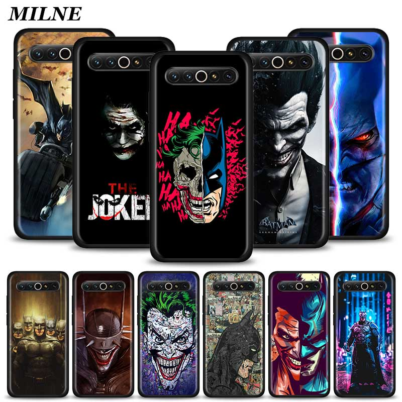 Silicone Phone Case For <font><b>Meizu</b></font> <font><b>16</b></font> 16th 16s <font><b>Pro</b></font> 16T 16Xs M6 17 <font><b>Pro</b></font> Soft TPU Black Cover Couqe Fundas Joker And Batman image