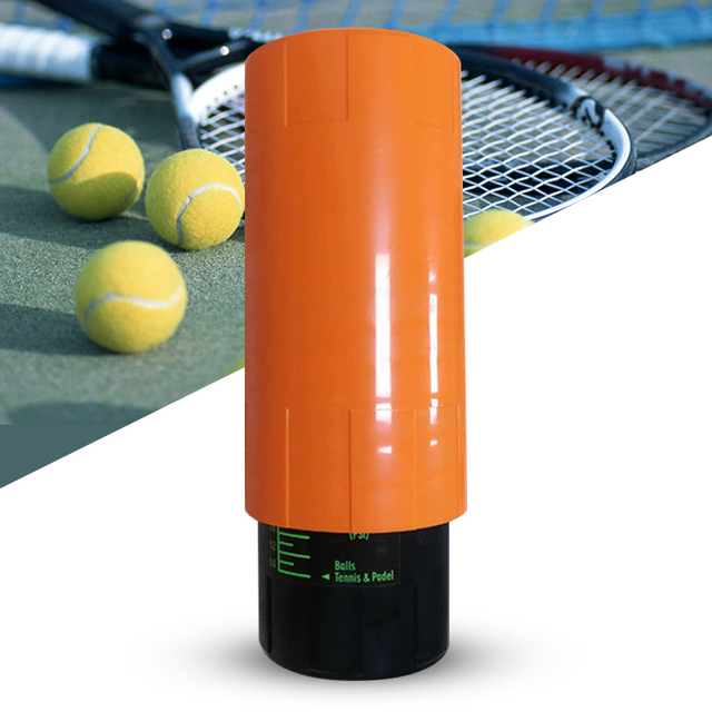 Tennis Ball Saver   Keep Tennis Balls Fresh And Bouncing Like New Orange