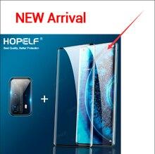 Verre trempé pour Huawei P30 Pro protecteur décran plein bord incurvé verre de protection pour Huawei Nova 4e P30 Lite Mate 20 Pro