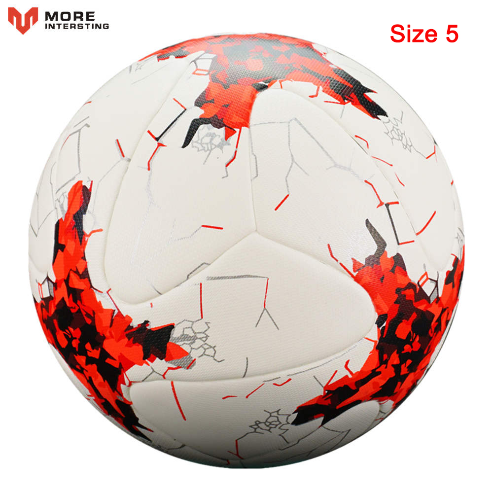 Russia Professional Size 4 Size 5 Football Premier PU Seamless Soccer Ball Goal Team Match Training Balls League futbol bola 10