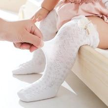 Baby Girl Socks Toddler Baby Mosquito Socks Summer Mesh Baby Knee Socks Newborn Baby Silicone Non-slip Long Baby Boy Socks