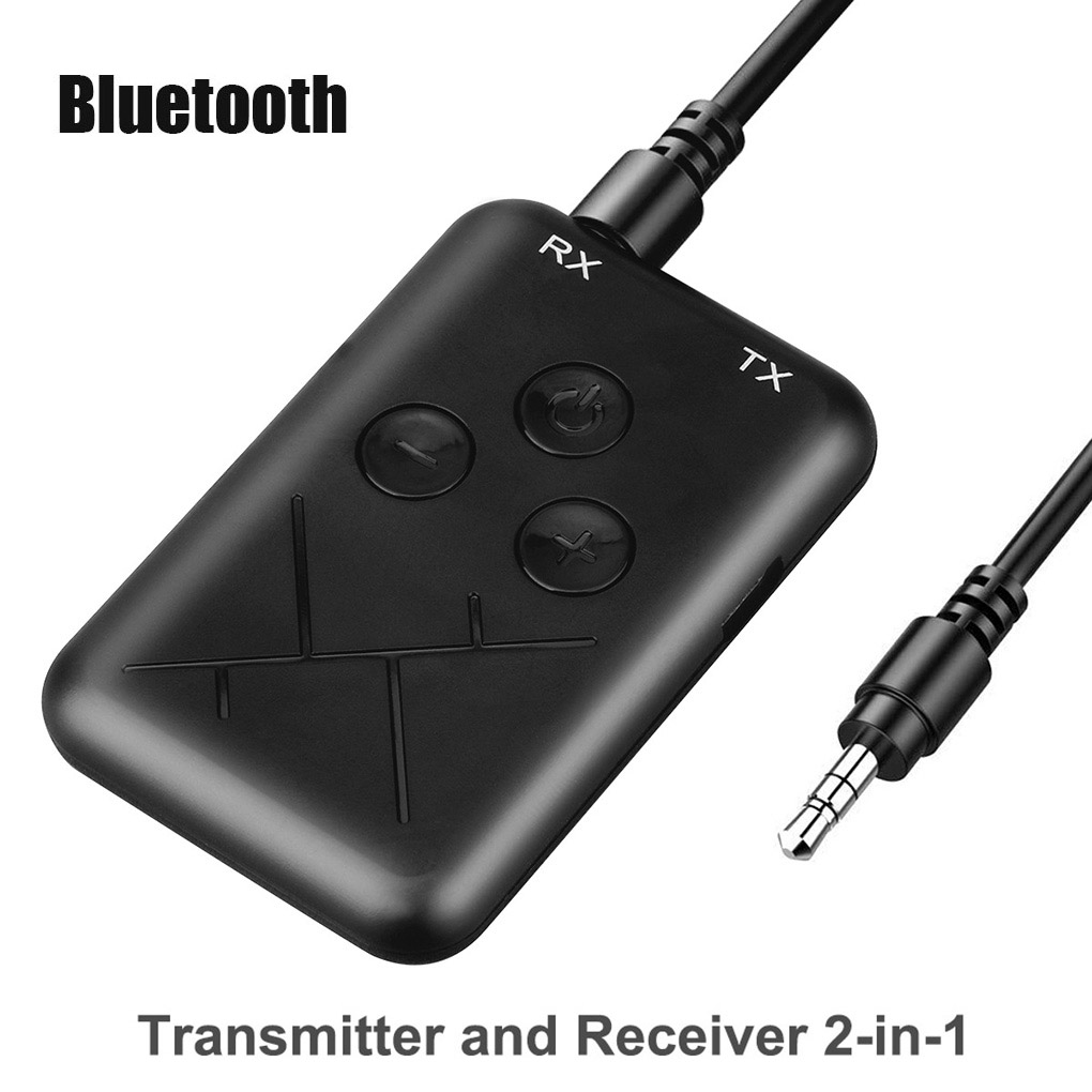 3.5mm Audio Wireless Bluetooth 4.2 Transmitter Receiver 2 In 1 Stereo Audio Adapter For TV Car Speaker Music
