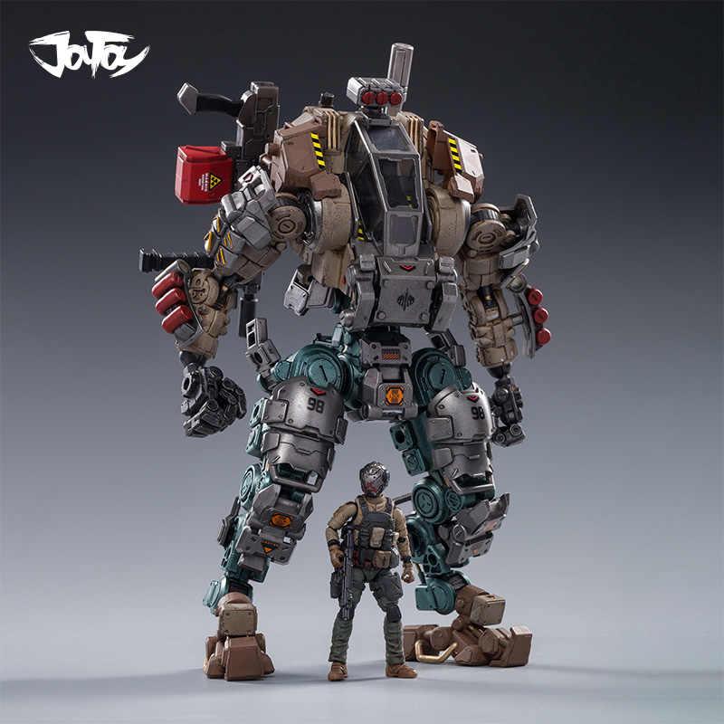 JOYTOY 21cm Iron Bone 02 Attacker Armor Assembly PVC Action Figure