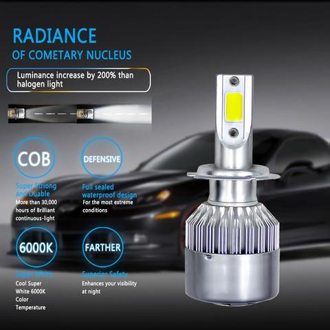 farol do carro lampadas h4 led lampadas h7 h11 h8 h9 880 881 9004 3000k