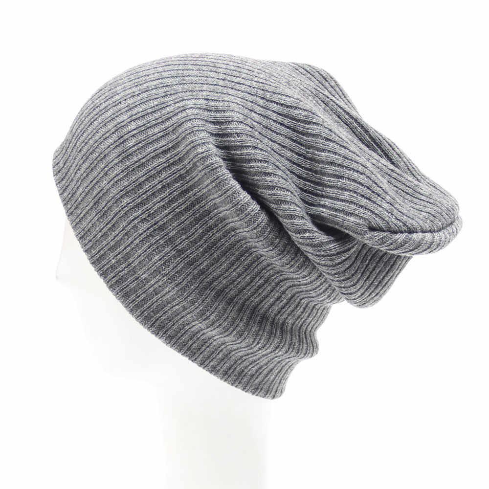 Mannen Vrouwen Beanie Knit Ski Cap Hip-Hop Winter Warm Unisex Wollen Muts Zachte Vrouwen Fluwelen Winter Warm Slouch Beanie ski Hip Hoed