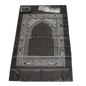 Image 5 - Bedroom Soft Muslim Prayer Rug Floor Mat Carpet Cushion with Compass Home Decor Muslim Prayer Rug Floor Mat Carpet Cushion mat