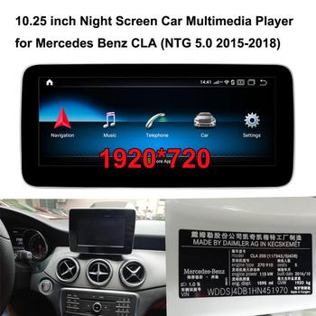 10.25 1920*720 Android 10.0 GPS Navigation Car Multimedia Player for Mercedes Benz CLA200 C117 X117 (2015-2019 NTG 5.0) image