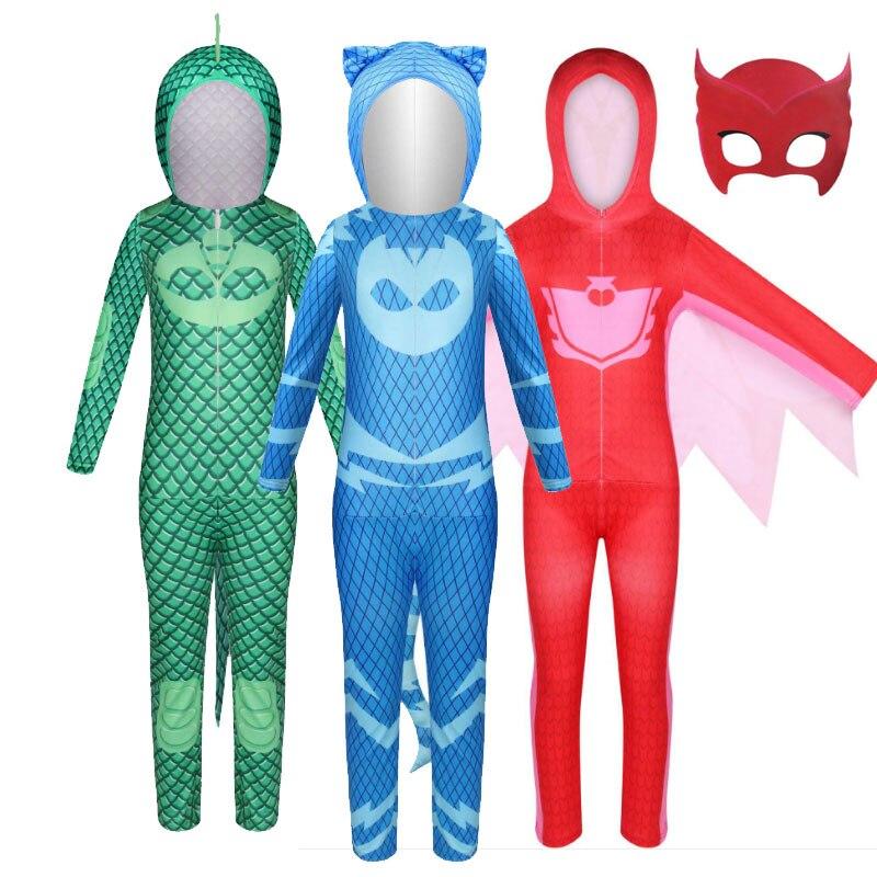 2020 New Halloween children cartoon cat boy costume children hero jumpsuit costume Halloween children costume 1