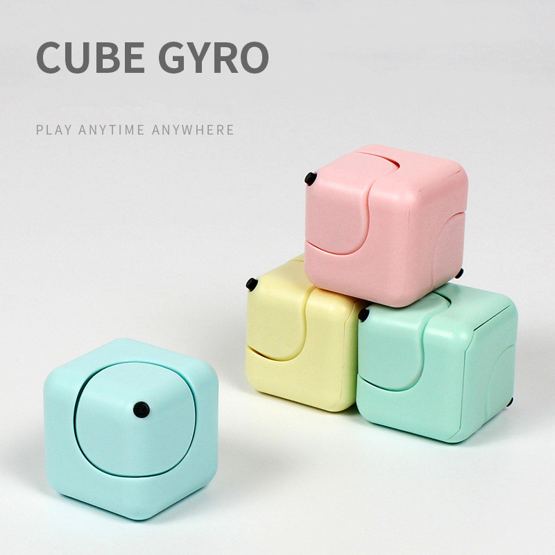hot famous ABS anti-stress anxiety depression stress relief cube and toys for kids
