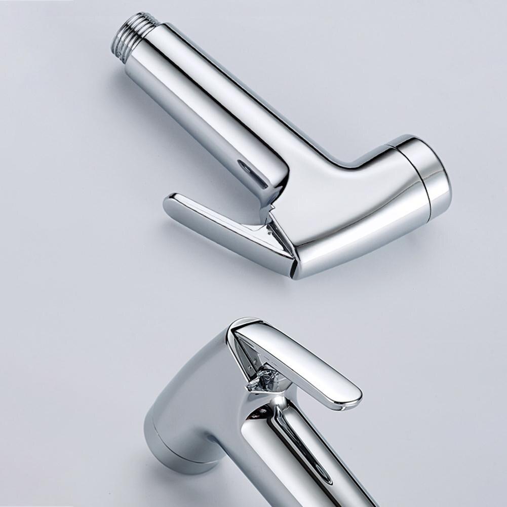 High Press Spray Head Bidet Туалет Распылитель Многофункциональный Flow Control Пластик Туалет Очистка Ополаскиватель Pet Small Душ