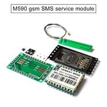 1pc M590 GSM Message Module DIY Kit GPRS 900 1800 MHz LHB99 gsm modem pool 8 ports for wavecom q2303 module usb at commands 900 1800 mhz