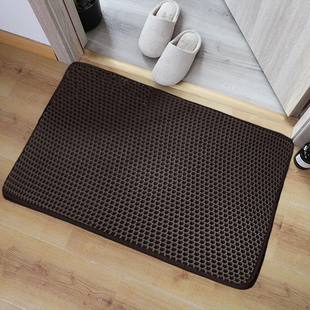 ЕВА Противоскользящий коврик для ванной для напольной кухни и прихожей входная придверный коврик Моющаяся коврик для обувидля гостиной ко...