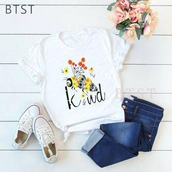 Bee Art Blumen Streetwear Männer T Shirt Mode T-shirt Frauen Sommer Casual Kurzarm Oansatz Mode T-shirt Vintage Kleidung