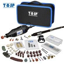 TASP 230 فولت 130 واط دريمل الروتاري أداة مجموعة مثقاب صغير كهربائي عدة حفارة مع الملحقات أدوات كهربائية لمشاريع الحرفية