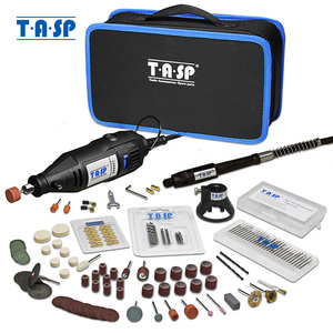 Image 1 - TASP 230V 130W Dremel Rotary Tool Set Electric Mini Drill Engraver Kit with Accessories Power Tools for Craft Projects
