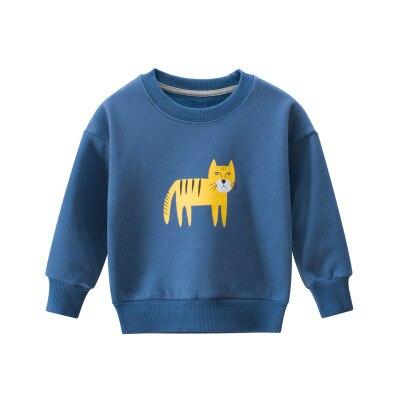 27kid Sweatshirts Baby Boys Girls Cotton Kids  Children Clothes Long Sleeve Sweatshirts Toddler Sportswear Child's Clothing 5