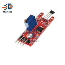 4 Pins KY-024 Linear Magnetic Hall Switches Speed Counting Sensor Module Smart Electronics for Arduino DIY Kit