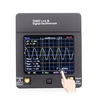цена на New Mini Digital Oscilloscope TFT Touch Full Screen Oscilloscope Portable USB Oscilloscope Interface 2MHz 5Msps