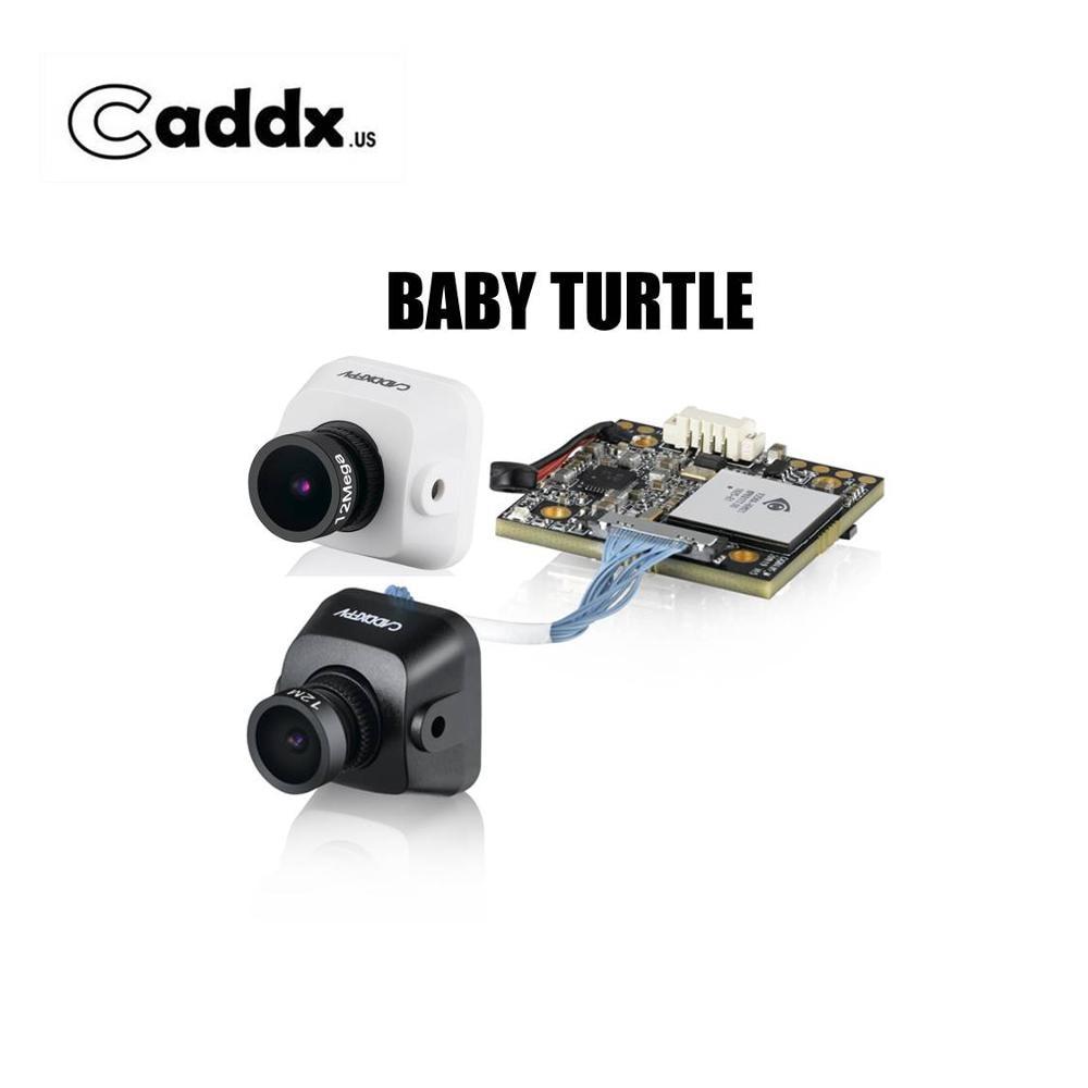 Caddx bébé tortue en gros Version 800TVL 16:9/4:3 FOV 170 1.8mm 7G lentille Super WDR FPV caméra HD DVR pour RC FPV drone de course