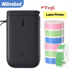 Niimbot D11 Wireless label Mini Thermal Printer Portable Pocket Bluetooth Sticker Barcode Printer For Mobile Phone Home Use