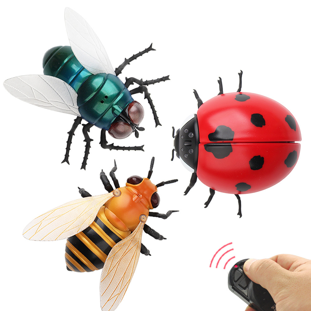 AZMA RC infrarrojo Control remoto para mascotas, juguete Animal, insecto inteligente, Mosca, abeja, mariquita, bromas pesadas, Radio, novedad, Juguetes Divertidos para niños Máscara de Bulldog Francés para la boca, divertida y bonita máscara Facial de Bulldog Francés, máscara moderna divertida con 2 filtros para adultos