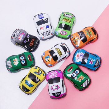High Quality Big Discount Pull Back Car Toys Four-Wheeler Car Funny Kids Educational Kids Car Toys image
