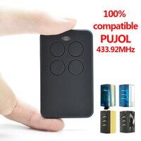 PUJOL mando garaje 433mhz rolling code mando garaje universal multi frecuencia 287 868MHz mandos a distancia de puertas de garage 100%  compatible PUJOL 433.92MHz|Mando a distancia de puerta| |  -