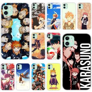 Hot Haikyuu Hinata Anime Volleyball Soft Silicone Case for Apple iPhone 11 Pro XS Max X XR 6 6s 7 8 Plus 5 5s SE Fashion Cover(China)