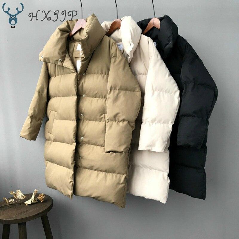 casacos feminino longo casual quente oversize puffer jaqueta parka marca 02