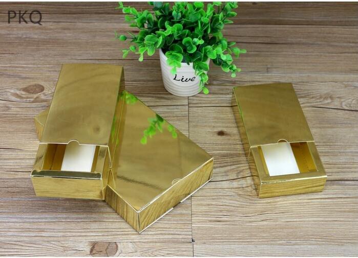 30 pièces en gros savon à la main boîte en carton boîtes à bonbons pour fête de mariage faveurs petit tiroir boîte-cadeau pour parfums/cosmétiques