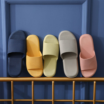 Slippers Women's Non-Slip Men's Bathroom Bath Slippers Couple's Home Wear Fashion Slippers Women Shoes Designer Shoes Men