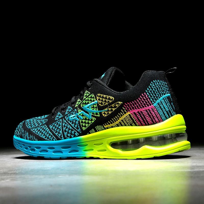 Mega Discount #846ed Colorful Running Shoes Men Sneakers
