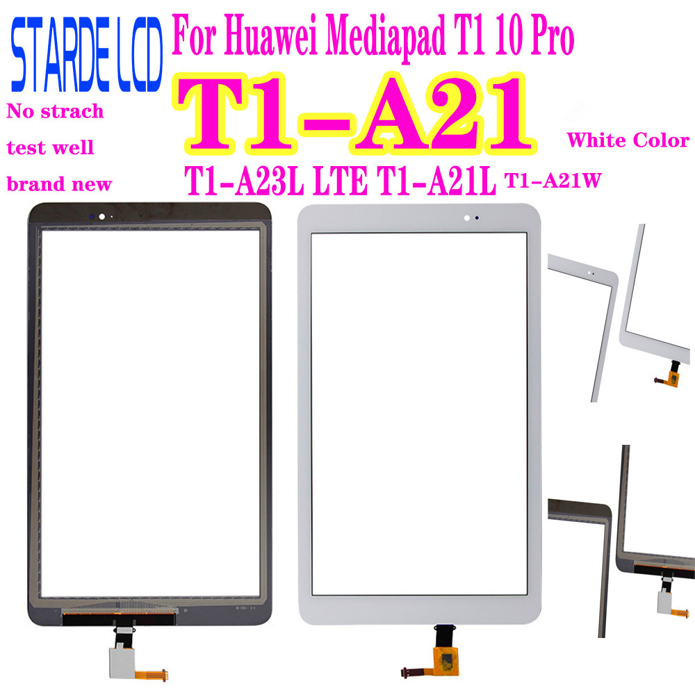 For Huawei Mediapad T1 10 Pro T1-A21 T1-A23L LTE T1-A21L T1-A21W Touch Screen Glass Digitizer Panel Front Glass Sensor Not LCD