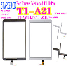For Huawei Mediapad T1 10 Pro T1-A21 T1-A23L LTE T1-A21L T1-A21W Touch Screen Glass Digitizer Panel Front Glass Sensor not LCD full new high quality for huawei t1 a21 mediapad t1 10 pro lte t1 a21l tablet pc touch screen panel digitizer free shipping