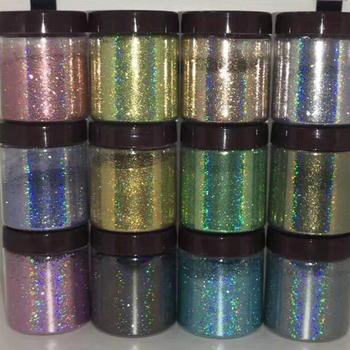 цена (1/128 .008)  In Bag 5g/10g Holographic Glitter Powder-Dazzling Nail Glitter Rainbow Pigments For Craft Gel Nail Powder 29Colors онлайн в 2017 году