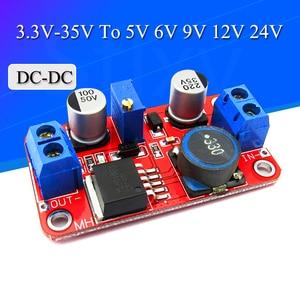 5A DC-DC Step Up Power Module Boost Volt Converter 3.3V-35V To 5V 6V 9V 12V 24V XL6019 adjustable output