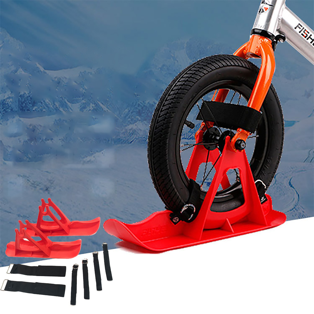 Universal Balance Car Sled Practical Outdoor Replacement Ski Board Scooter Parts Easy Install Children Toddler Durable Snowboard