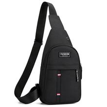 Men Fashion Multifunction Shoulder Bag Crossbody Bag On Shoulder Travel Sling Bag Pack Messenger Pack Chest Bag For Male
