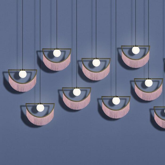 Modern Luminaria Pendente Crystal  Restaurant  Home Decoration E27 Light Fixture Luminaire Suspendu