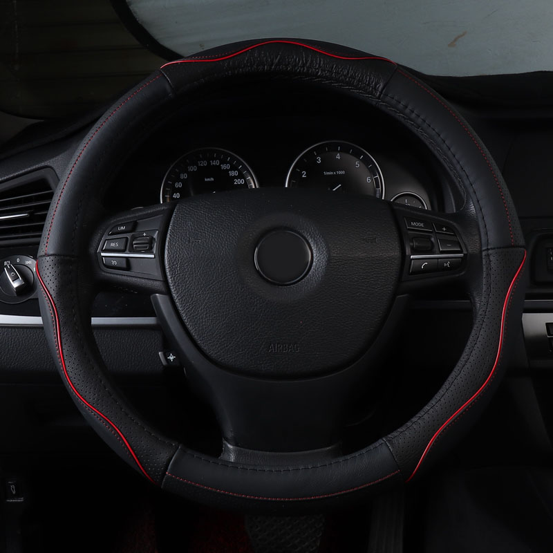 Car Steering Wheel Cover Auto Steering Covers for Mercedes Benz M Class Ml320 <font><b>Ml</b></font> <font><b>350</b></font> <font><b>W163</b></font> W164 W166 GLE Clk W208 W209 230 image