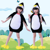 Children Animal Costume CHILDREN'S DAY Kindergarten Penguin Performance Costume Summer Men And Women Character Play Penguin Danc