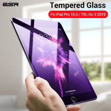 ESR защитная пленка из закаленного стекла для iPad 7 /Air 3/iPad Pro 10,5, защитная пленка из закаленного стекла для iPad 7 /Air 3