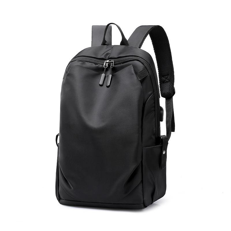 New Waterproof Men Pleated Backpack 15.6 Inches Laptop Back Pack Large Capacity Stundet Backpacks Casual Anti-thief School Bags image