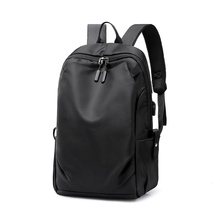 New Waterproof Men Pleated Backpack 15.6 Inches Laptop Back Pack Large Capacity