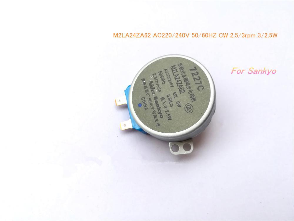Пошаговый синхронный двигатель M2LA24ZA62 AC220, 240 В переменного тока, 50/60 Гц, CW 2,5/3 об/мин, 3/2, 5 Вт