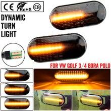 Blinker-Light Polo Passat 3bg Volkswagen Golf 3 Side-Marker Turn-Signal-Light Led Dynamic